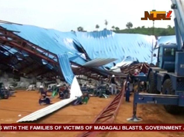 Church sollapse in Nigeria
