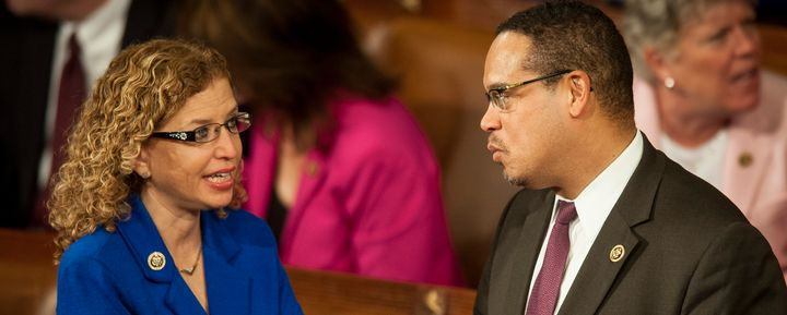 If named chairman of the Democratic National Committee, Rep. Keith Ellison of Minnesota would take on the role held by Rep. D