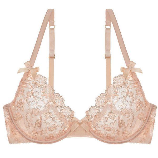 "Camilla high apex bra, $82, <a href=""http://www.journelle.com/bras/underwire-bras/l%26%23039%3Bagent-camilla-high-apex-bra/LA"