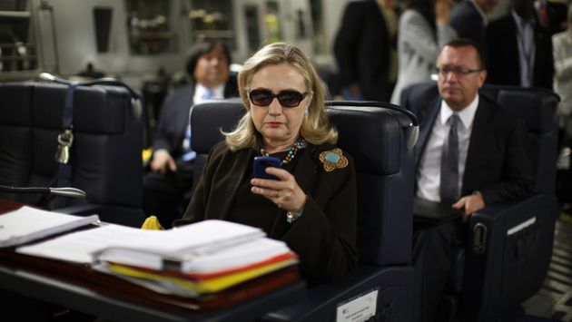 "This now-infamous photograph spurred the ""Texts from Hillary"" internet meme and demarcates a time when..."