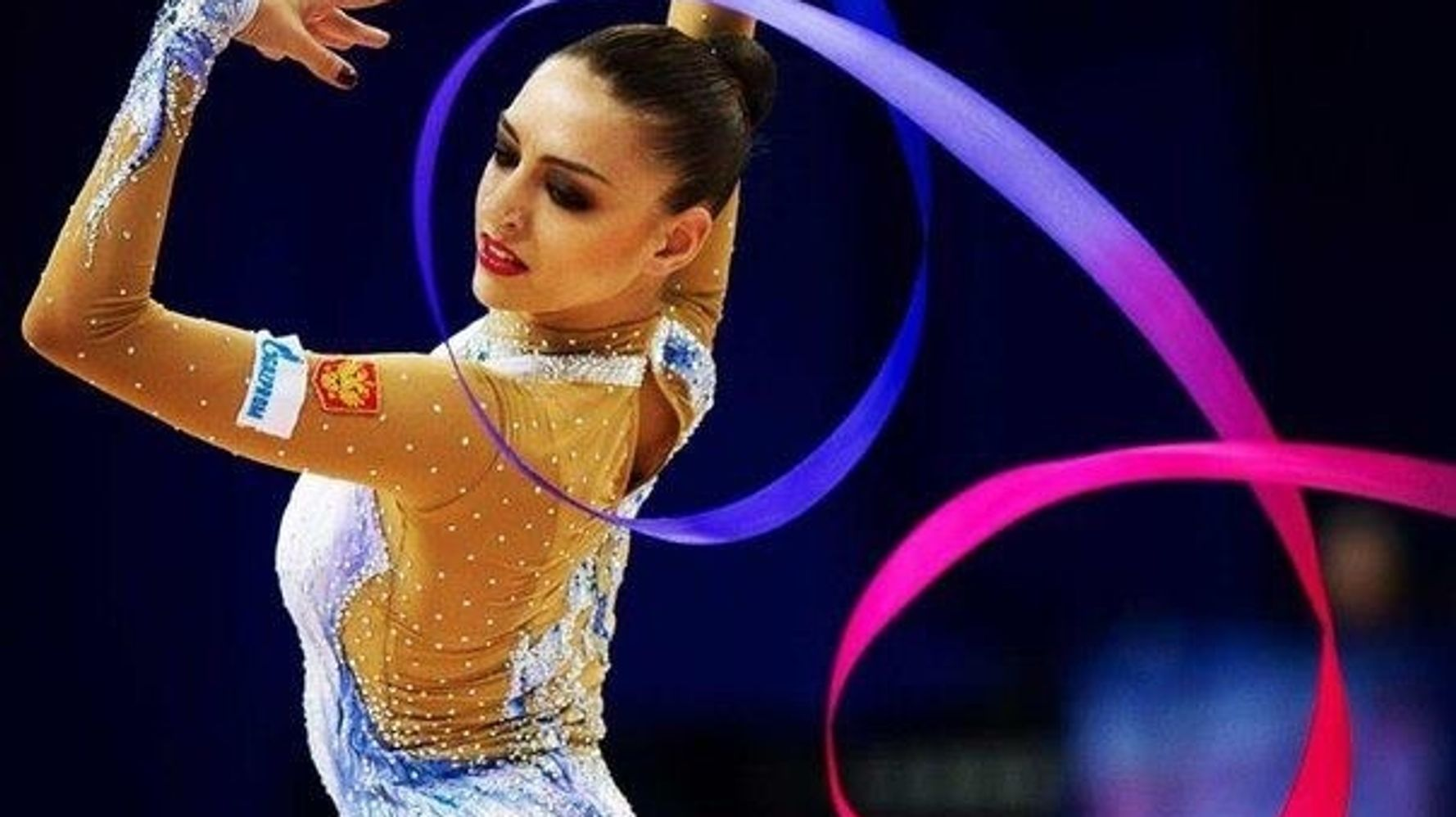 Artistic Gymnastics With Ribbon  Necessary For Sports and Fitness Dancing US