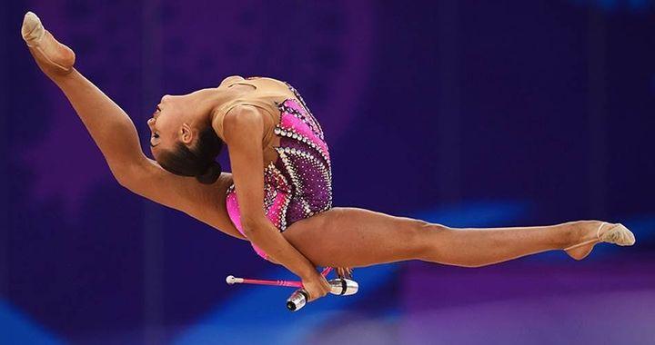 2016 Olympic Gold Medalist Margarita Mamun.