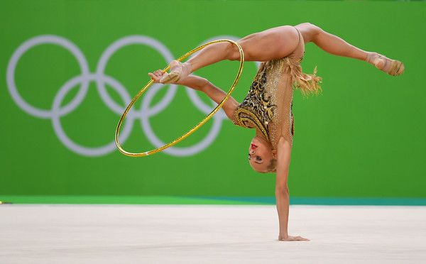 Yana Kudravtseva, youngest rhythmic gymnastics world champion.