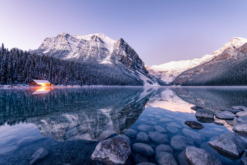 Crisp Morning at Lake Louise