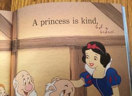 Mom Gives Daughter's Princess Book An Empowering Spin