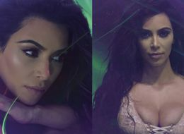 Kim Kardashian Makes Lingerie-Clad Love Advent Calendar Debut