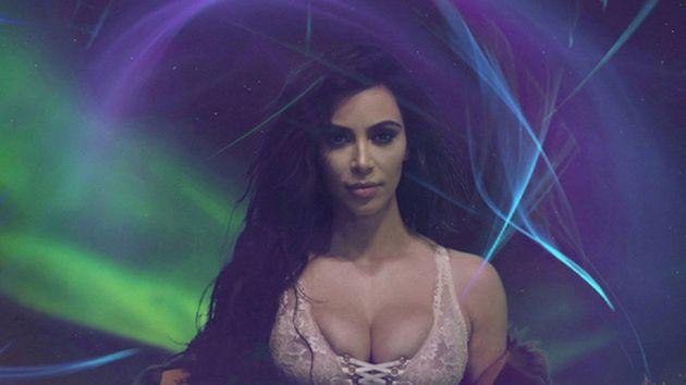 Kim Kardashian Makes Lingerie-Clad Love Magazine Advent Calendar