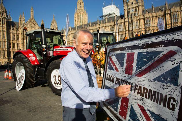 Ian Liddell-Grainger MP at the National Farmers Union (NFU) earlier this