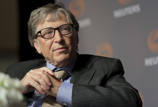 Bill Gates, co-chair of the Bill & Melinda Gates Foundation, speaks during a discussion on innovation...