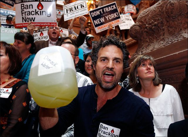 <strong>Actor Mark Ruffalo was allegedly put on the FBI terrorist watch list for his support of the anti-fracking documentary