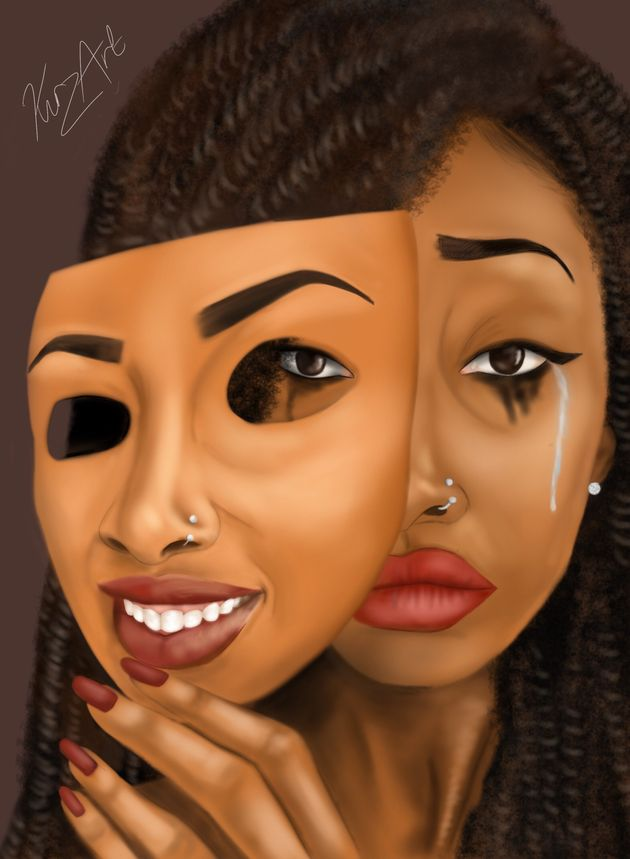 Illustrator Shares Mental Health Struggles Through Digital Art To Show Others 'They're Not