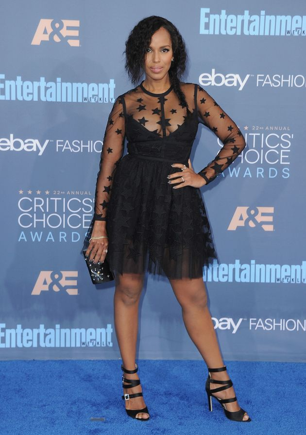 Kerry Washington Shines On The Red Carpet, 2 Months After Giving