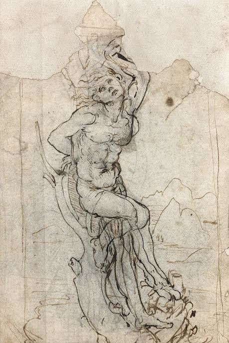 A French auction house has announced the discovery of a never-before-seen sketch by Italian master Leonardo da Vinci. The dra