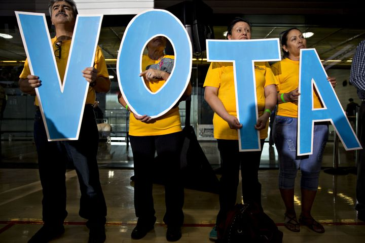 The Latino electorate is being debated among pollsters after the election.