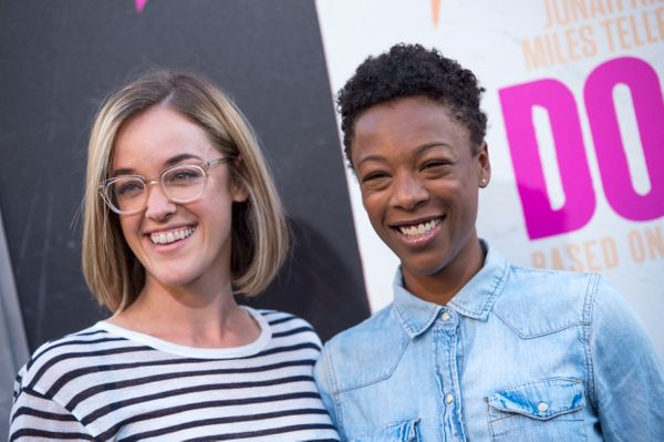 """""""Orange Is The New Black"""" actress <a href=""""http://www.huffingtonpost.com/entry/orange-is-the-new-black-star-samira-wiley-gets"""
