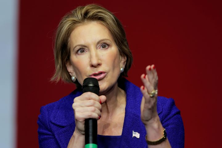 "Carly Fiorina was impressed that President-elect Donald Trump ""has really cool stuff in his office."""