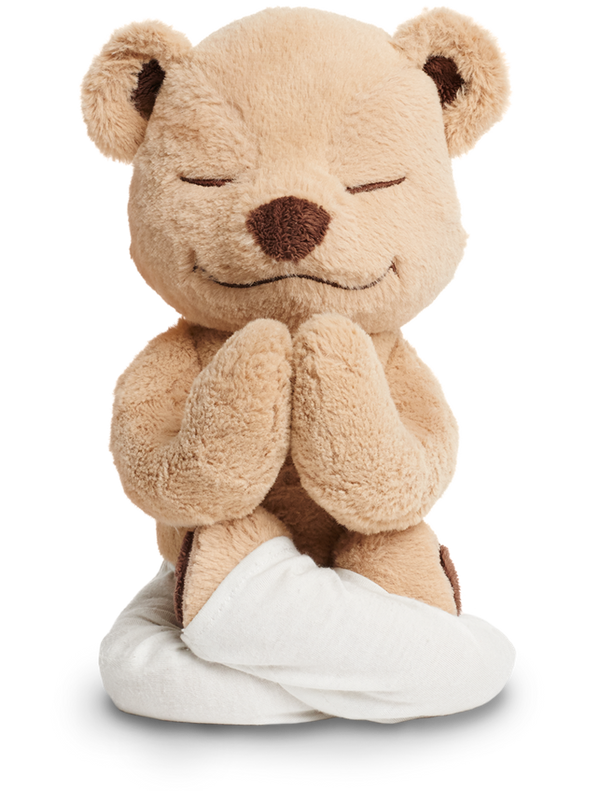 Start 'em young with Meddy, the stuffed animal that teacheschildren yoga and mindfulness. A cuddly and educational gift