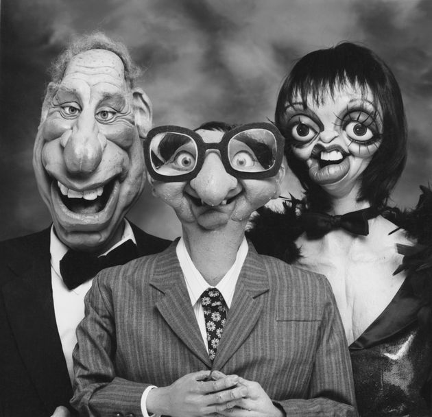 Film director Mel Brooks, BBC weatherman Ian McCaskill and actress and singer Liza Minnelli as imagined...