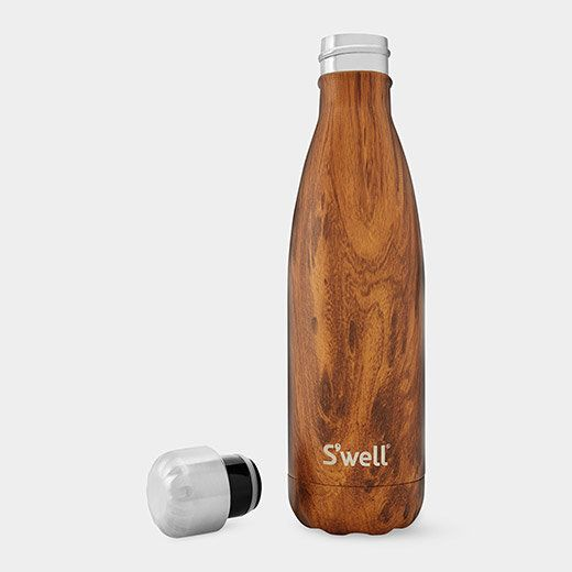 This water bottle does more than just look good: It actually keeps liquid beverages cold for 24 hours and hot for 12 hours.&n