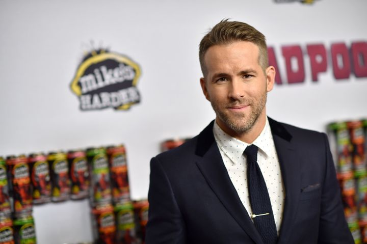 """Ryan Reynolds at a""""Deadpool"""" fan event at AMC Empire Theatre on Feb. 8, 2016 in New York City."""