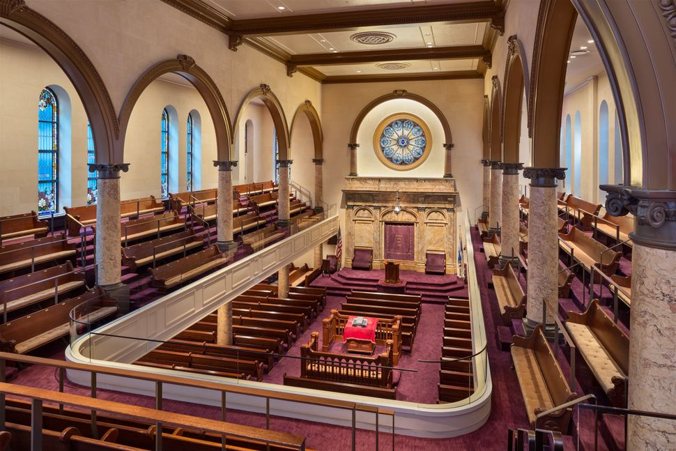 FXFOWLE; Congregation Kehilath Jeshurun Synagogue; New York, New York; Restoration
