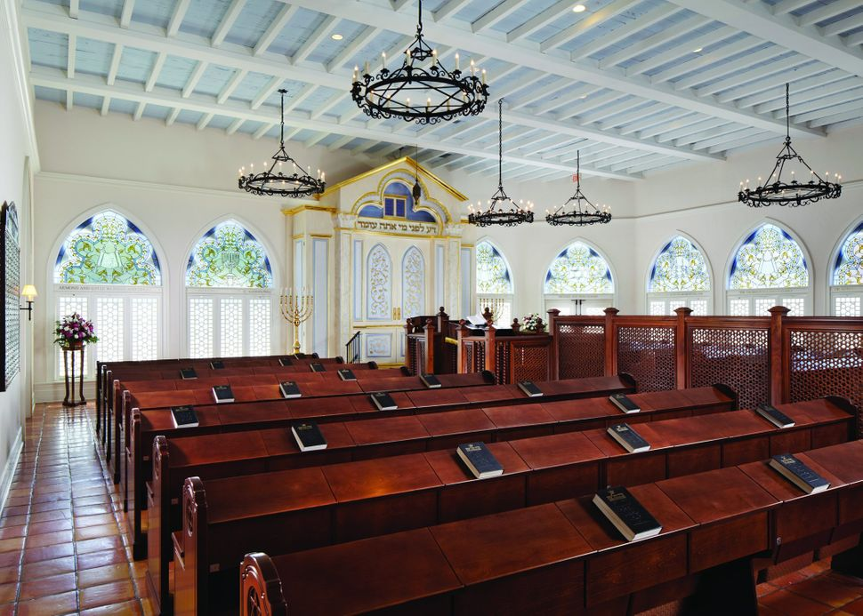 Arthur Chabon Architect; Palm Beach Synagogue; Palm Beach, Florida; Liturgical/Interior Design