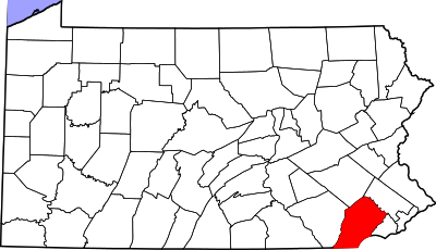 Chester County, which uses the most paper ballots of any county in Pennsylvania