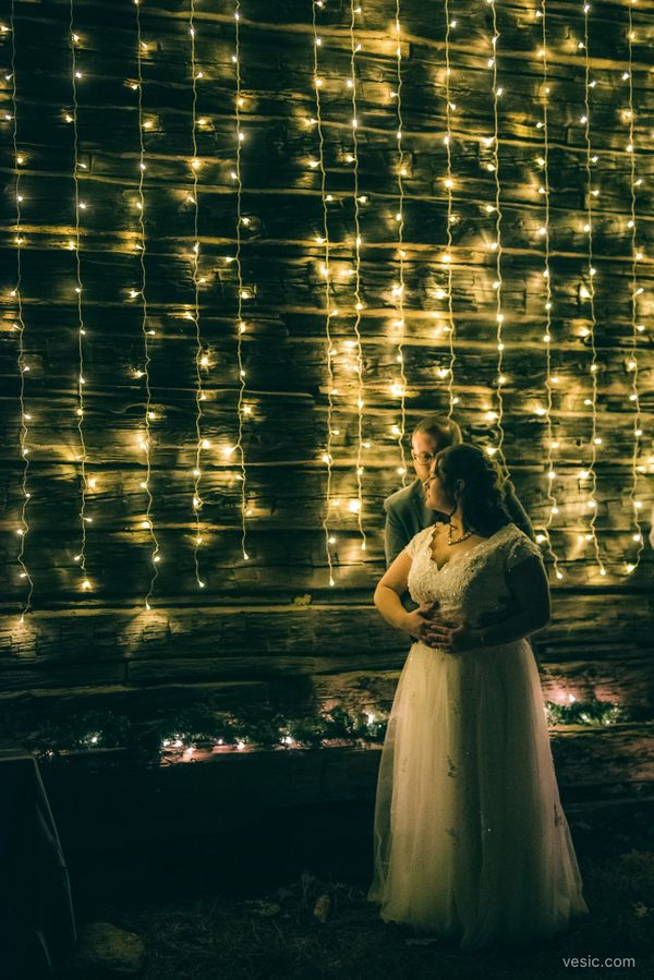 """Carissa and Alex had a beautiful December wedding this weekend in North Carolina."" -- <i>photographer Hooman Bahrani </"