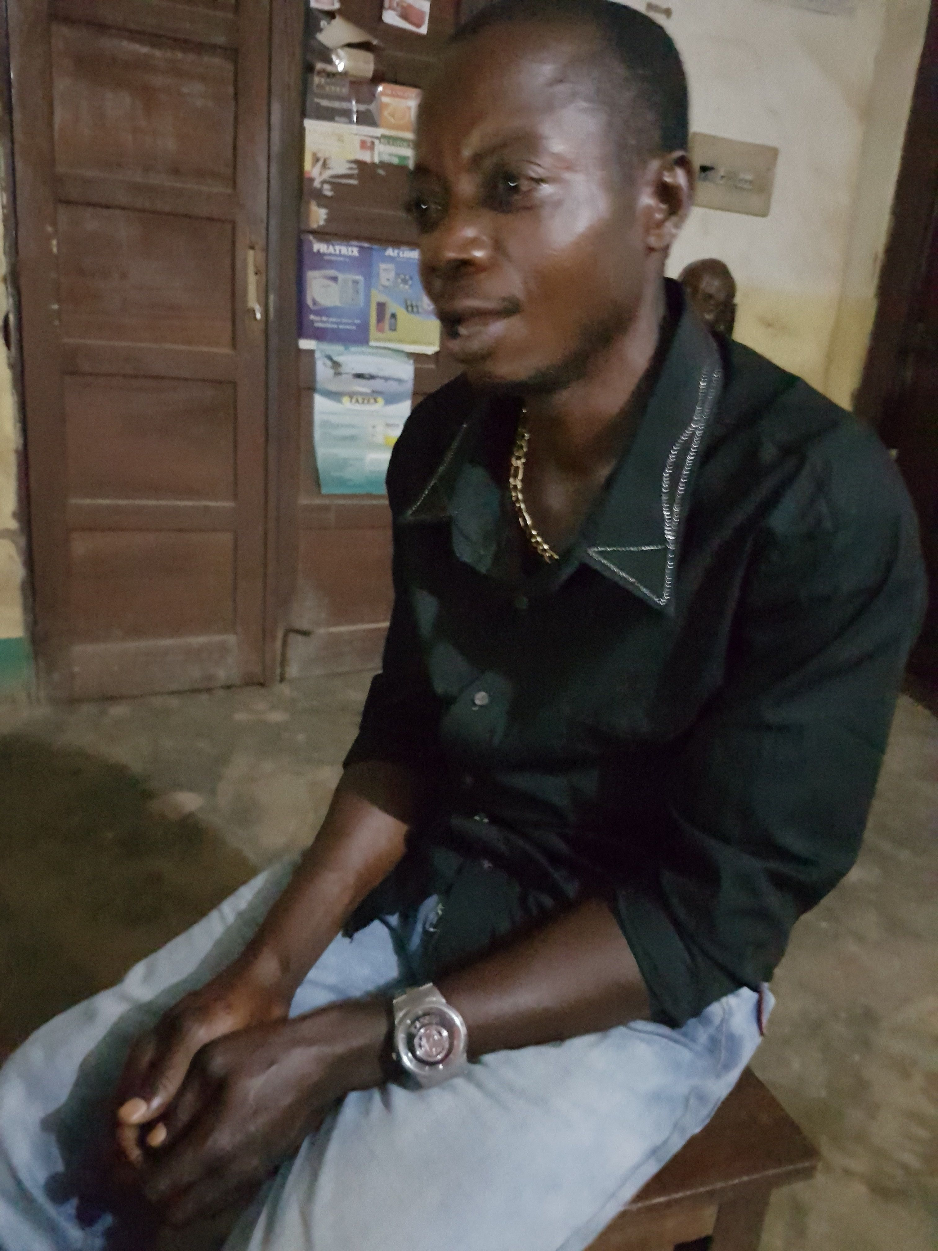 When Tekadiozaya Simon first developed sleeping sickness, the symptoms were mild and he was mostly able to ignore them. But l