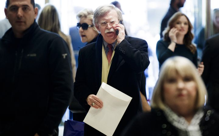 Potential Deputy Secretary of State nominee John Bolton's super PAC helped  elect three senators who will