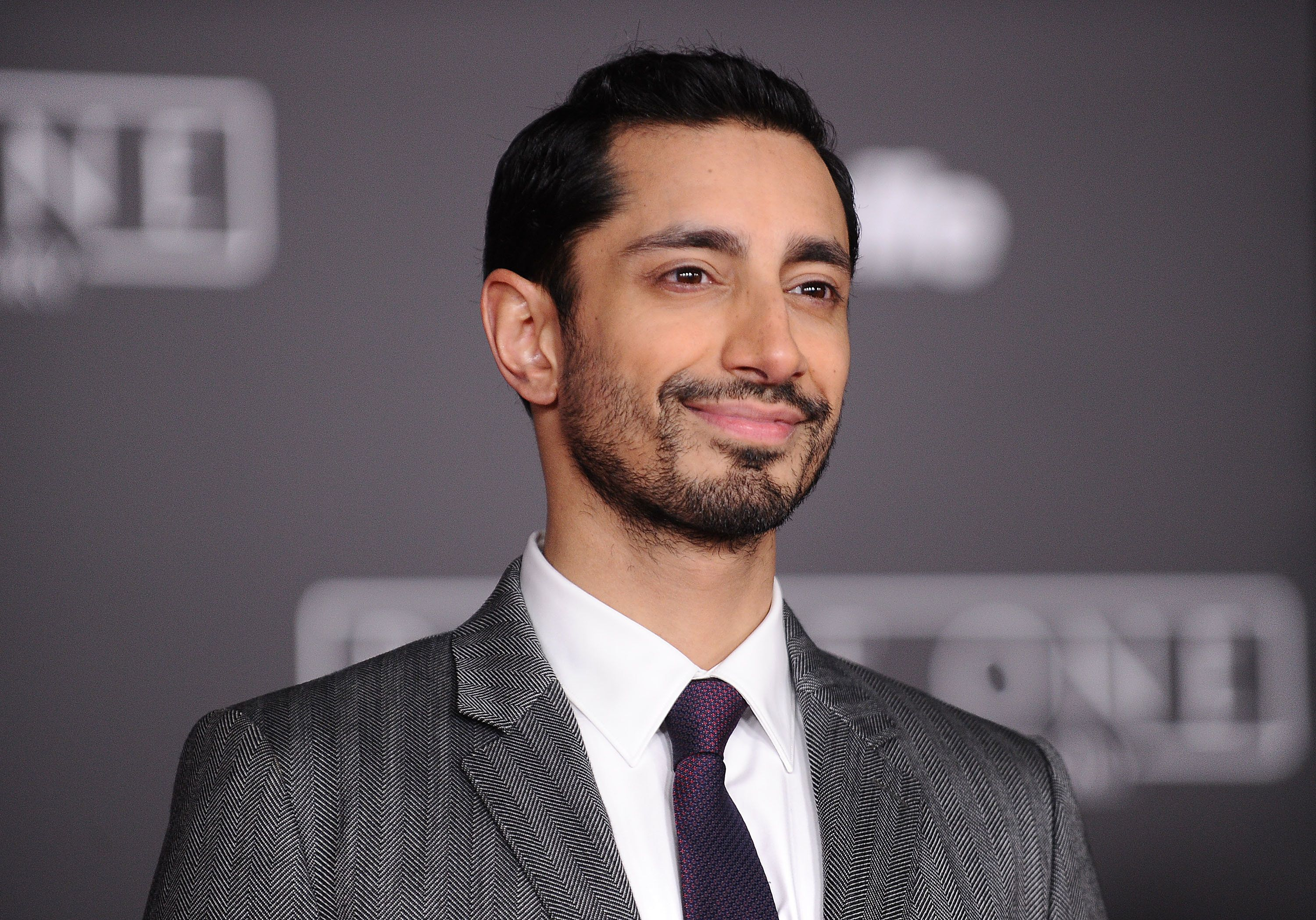 """Riz Ahmed at the premiere of """"Rogue One: A Star Wars Story."""""""