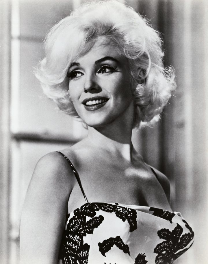 """Marilyn Monroe portraying Ellen Wagstaff Arden in the 1962 comedy """"Something's Got to Give."""" The George Cukor film was never"""