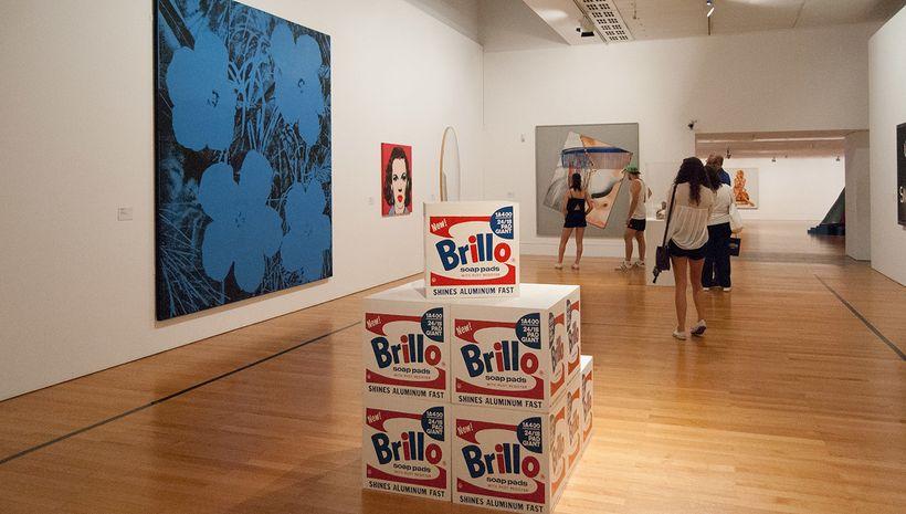 American Pop Art room, Museu Colecão Berardo