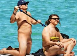 Alan And David Recreate THAT Naked Orlando Bloom Paddle Board Moment