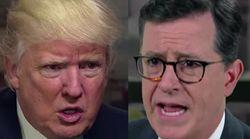 Stephen Colbert Grills Donald Trump Over Russian Hacking In Spoof
