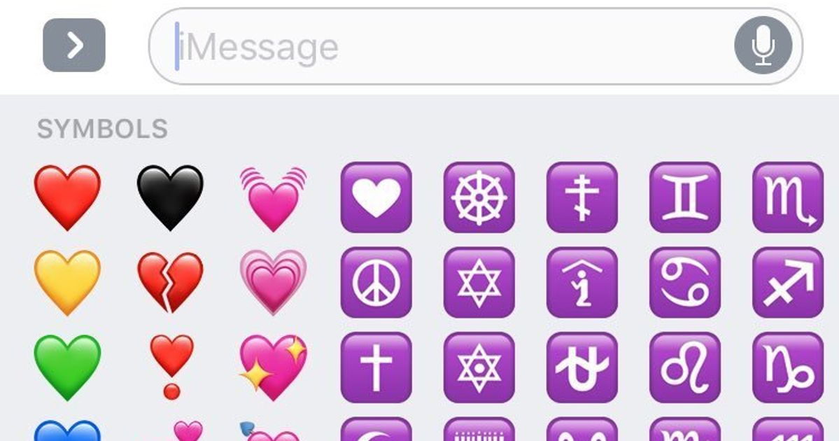 Apples New Black Heart Emoji Is The Perfect Ending To The Crap