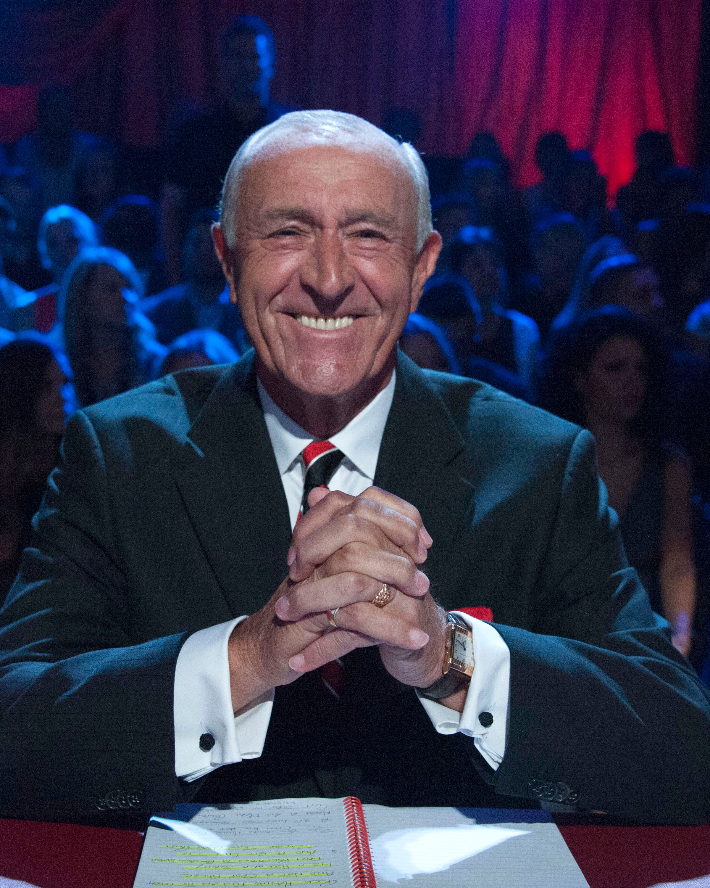 This weekend's final will be Len's last ever 'Strictly'