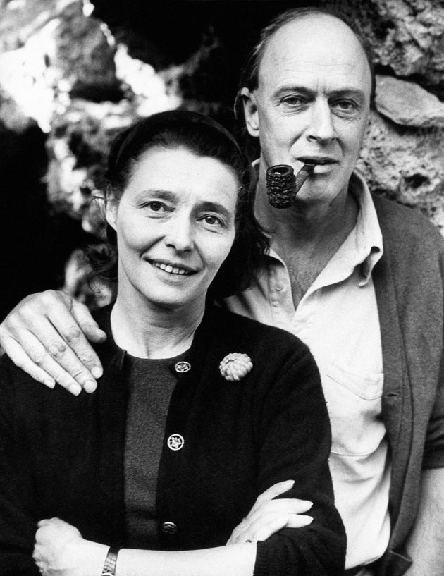 Roald Dahl with his wifePatricia
