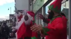Santa And His Elves Just Nailed A Bhangra Dance