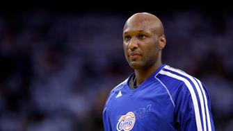 FILE - This Jan. 2, 2013, file photo shows Los Angeles Clippers' Lamar Odom during an NBA basketball game against the Golden State Warriors in Oakland, Calif. A four-day binge that culminated in Odom being found unconscious in the Nevada Love Ranch placed him atop Googles list of hottest searches during 2015. The annual breakdown released Wednesday, Dec. 16, ranks the inquiries that triggered the biggest spikes in traffic on Googles dominant search engine, excluding queries about sexually explicit subjects. (AP Photo/Marcio Jose Sanchez, File)