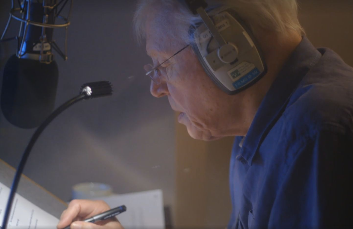 Sir David hard at work in his seventh decade of broadcasting about