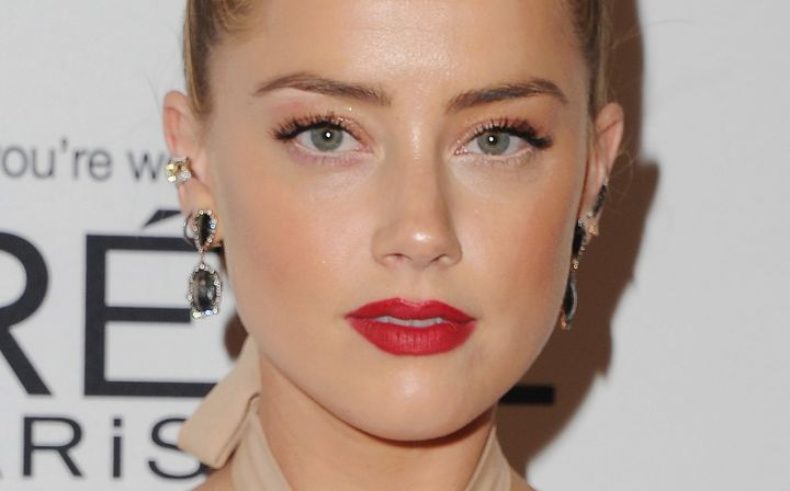 Amber Heard arrives atGlamour Women Of The Year 2016.