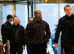 Yep, This Is Kanye West Arriving At Trump Tower
