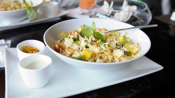 My Crispy Rice Salad, full of sweet ginger and other fresh Asian flavors, also makes a hearty brunch. <br><br><strong>Get the