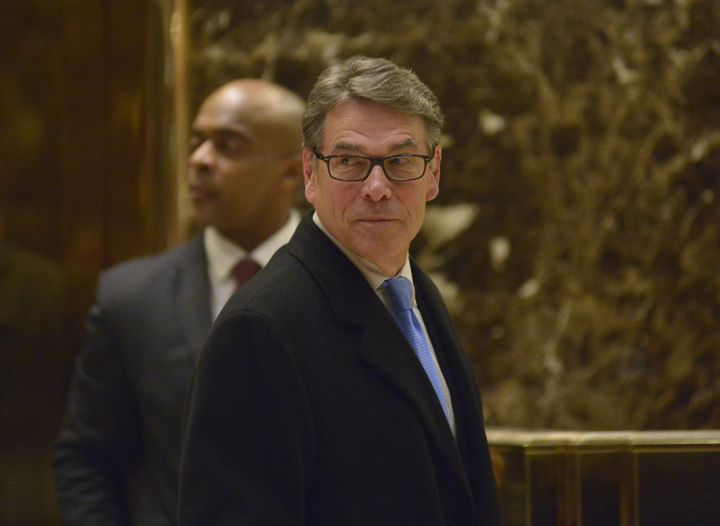 Former Texas Gov. Rick Perry is tipped to be picked as the new secretary of energy -- a department he once vowed to abol