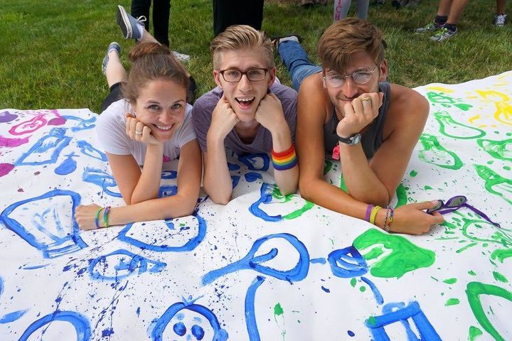 """The camppromises its LGBTQ youth participants a chance to """"express themselves without hesitation in a fun, carefr"""