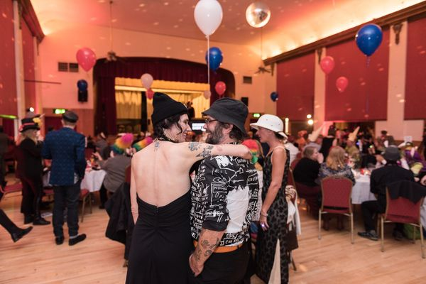 Three days before the election, Shawna and Christian enjoy a date night at the Mad Hatter Dinner Gala, a fundraiser for Seatt
