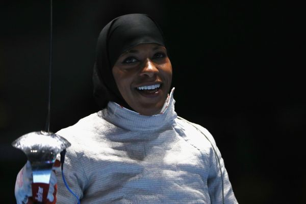 In a year filled with anti-Muslim, anti-women rhetoric, watching a powerful Muslim-American woman compete in the Olympics wea
