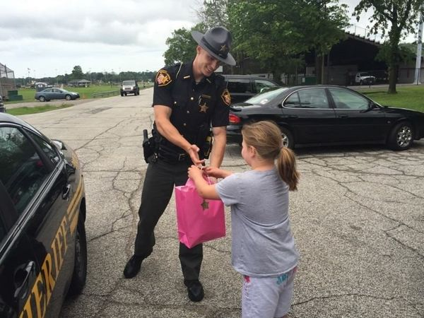"""When Sheriff Daniel Dunlap of Lake County, Ohio swears in his deputies, he gives them advice. """"I tell them, 'Ther"""