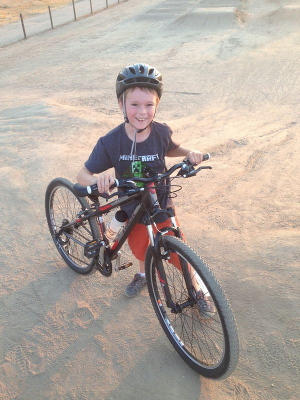 Atticus Seng had his bicycle stolen, twice in one month, from outside his Fresno, California elementary school. The second ti